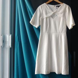 BCBGMaxAzria Cypress Shawl-Top Dress